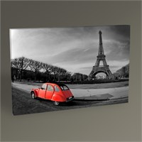 Tablo 360 Paris Red Car Tablo 105X70
