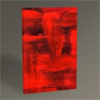 Tablo 360 Red Abstract Iı Tablo 45X30