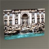 Tablo 360 Roma Trevi Fountain Tablo 45X30