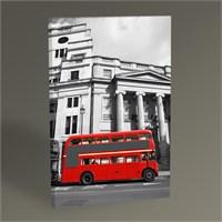 Tablo 360 London Red Bus Tablo 45X30