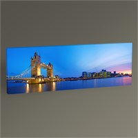 Tablo 360 London Tower Bridge Tablo 60X20