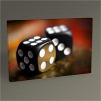 Tablo 360 Siyah Zarlar Tablo 45X30