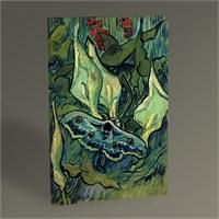Tablo 360 Vincent Van Gogh Ölü Kelebek Tablo 45X30