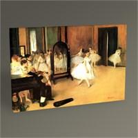 Tablo 360 Edgar Degas Dans Sınıfı Tablo 45X30