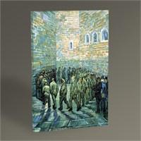 Tablo 360 Vincent Van Gogh Tutukluların Yürüyüşü Tablo 45X30