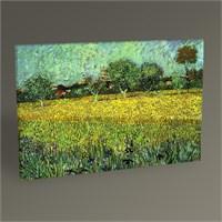 Tablo 360 Vincent Van Gogh Arles Manzarası Tablo 45X30