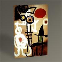 Tablo 360 Joan Miro Güneşin Önündeki Adam Ve Kuş 45X30