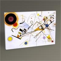 Tablo 360 Wassily Kandinsky Kompozisyon Vııı Tablo 45X30