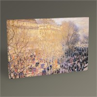 Tablo 360 Claude Monet Des Capuchines Bulvarı,Paris Tablo 45X30