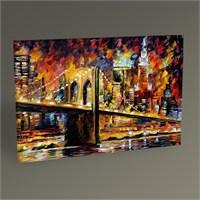 Tablo 360 New York Brooklyn Köprüsü Tablo 45X30