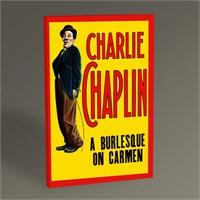 Tablo 360 Charlie Chaplin A Burlesque On Carmen 45X30