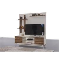 Alpino Sunway Tv Ünitesi - Mercan /Ceviz