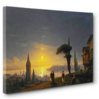Tabloshop - İvan Ayvazovski - Galata Kulesi Tablosu