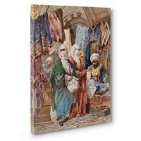 Tabloshop - İpek Çarşısı Osmanlı Tablosu
