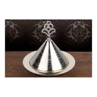 Jardinyer HUNİ SAHAN Gümüş 18 cm.