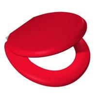 Alper Kırmızı Süngerli Klozet Kapağı