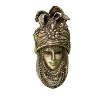 Gold Dekor Saray Maske Altın Renk