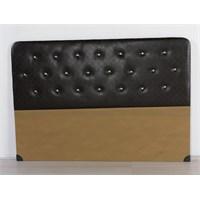 Nav Decoration Sıla Çift Kişilik Baza Başlığı - Siyah - 150X200