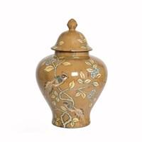 Yargıcı El İşlemeli Seramik Pot ( 28 X 41 Cm)