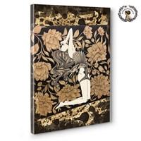 Artred Gallery 75X50 Ahşaba El İşlemesi Kanvas Tablo