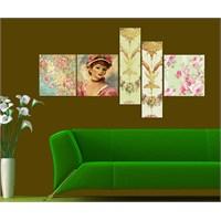 Artred Gallery 5 Parçalı My Dream Kanvas Tablo 180X75