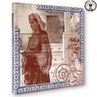 Artred Gallery Çini Ve Osmanlı KızıKanvas Tablo 60X60