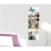 Artred Gallery Kelebek Ve Kağıt Kanvas 50X155 Tablo
