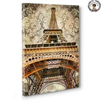Artred Gallery Objeler Serisi Kanvas Tablo 21 (Paris)