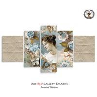 Artred Gallery Valentina Serisi 125X56 Kanvas Tablo-11