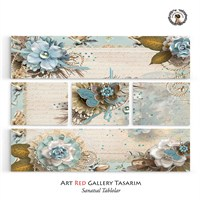 Artred Gallery Valentina Serisi 126X95 Kanvas Tablo-14
