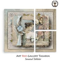 Artred Gallery Valentina Serisi Kanvas 73X89 Tablo-17