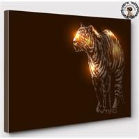 Artred Gallery 60X60 İllutrasyon Kaplan Işıklı Tablo