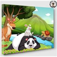 Artred Gallery 50X70 Sevimli Hayvanlar Tablo