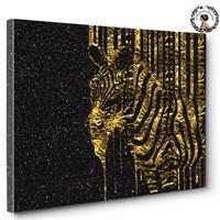 Artred Gallery 50X75 Altın Zebra Tablo
