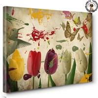 Artred Gallery 50X75 Pastel Çiçekler Tablo