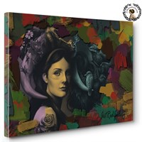 Artred Gallery 50X75 Renkli Fırçalar Tablo