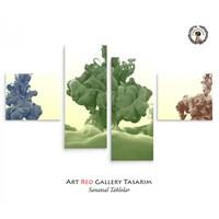 Artred Gallery Duman 4 Parça 114X63 Tablo