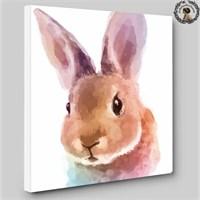 Artred Gallery İllüstrasyon Tablo Tavşan 60X60