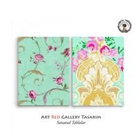 Artred Gallery 2 Parça Duvar Kağıtları 83X55 Tablo-2
