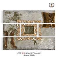 Artred Gallery Beş Parça Lady 126X95 Tablo-2