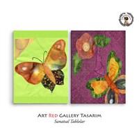 Artred Gallery Kumaş Objeler İki Parça 83X55 Tablo