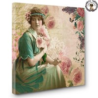 Artred Gallery Lady Serisi Canvas Tablo-6 60X60
