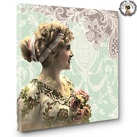 Artred Gallery Lady Serisi Canvas Tablo-9 60X60