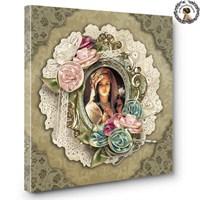 Artred Gallery Osmanlı Kadınları Dantelli Tablo 60X60