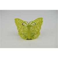 Cosiness Kelebek Ferforje Mumluk - Yeşil