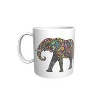 Fil Tasarımlı Kupa Bardak