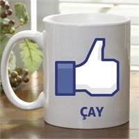 Facebook Like Çay Kupası
