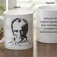 Mustafa Kemal Atatürk Öğretmenler Günü Bardak