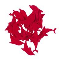 La Mia 25'Li Kırmızı Yunus Keçe Motifler Fs290-M13