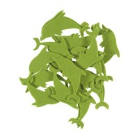 La Mia 25'Li Yeşil Yunus Keçe Motifler Fs290-M52